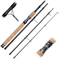 Shakespeare *NEW* AGILITY 2 SPIN 4PC TRAVEL Fishing Rod Carbon + Carry Case