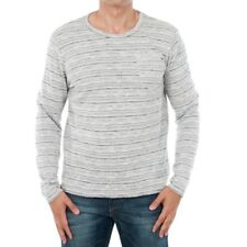 Jack&Jones Homme Pull Gris Manches longues Col rond 13077