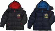 Boys Kids Minions Hooded Winter Jacket Coat Age 3-8 Years