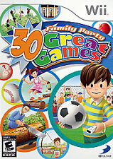 Nintendo Wii FAMILY PARTY: 30 Great Games (2008) 100% Complete with Manual MNT