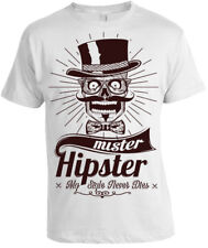 Mr. Hipster Camiseta Hombre Mujer Regalo