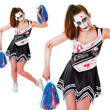 adulto LICEO cheerleader zombie TRAVESTIMENTO COSTUME HALLOWEEN VESTITO Undead
