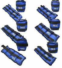 3kg 4kg 5kg 6kg Wrist & Ankle Weights For Exercise Fitness Gym Running