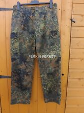 GENUINE GERMAN ARMY FLECKTARN COMBAT TROUSERS / SUPER GRADE AND GRADE 1