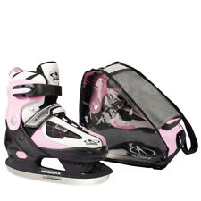Hudora Pattini da ghiaccio SET HD 2010 ROSA ERL 28-39 BORSA HOCKEY SU