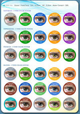 Contact Lenses Colored Fantasy FRESHTONE® 1 year + Case + AVIZOR solution 10 ML