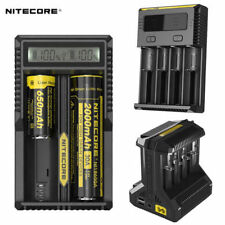 Authentic Nitecore Intellicharger 10440/14500/16340/26650 Battery Charger