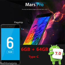 Vernee Mars PRO 5.5'' Android 7.0 4g Smartphone Octa Core 2.5ghzGHz 6 / 64g