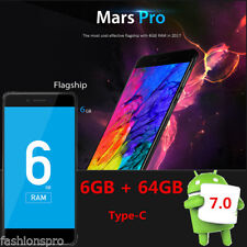 Vernee Mars Pro 5.5'' Android 7.0 4G Smartphone Octa Core 2.5GHz 6/64G TIPO C