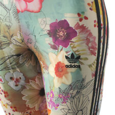R BNWT Women's Adidas Originals X FARM Flower Leggings Pants UK 6 8 10 12 14