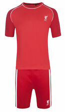 Liverpool Pyjamas Mens Official Short Football PJ Set Gift Sizes Small To XXL