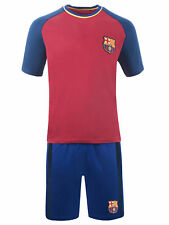 FC Barcelona Pyjamas Mens Official Short Football PJ Set Gift Sizes Small To XXL