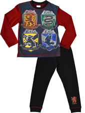 Boys Harry Potter Pyjamas Gryffindor Slytherin Pyjama Set PJs Nightwear Hogwarts
