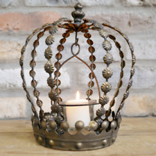 Vintage Garden Lanterns Moroccan Decor Candle Holders Metal Lamp Patio Tea Light