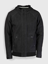Weekend Offender Bardot black zip-front hoodie size small-3XL
