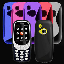 Nokia 3310 2017 New Gel Silicone SLine Rubber Phone Case Cover