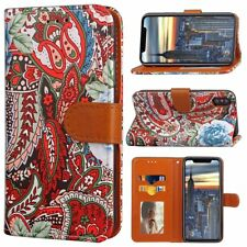 COQUE ETUI HOUSSE PORTEFEUILLE LUXE NEW CUIR BANDANA IPHONE 5 5S SE 6 6S 7 8 X