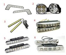 Bright White 6000K LED DRL Day Running Lights Units All Styles Choose from list
