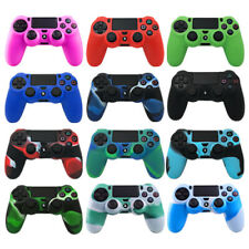 Camouflage Silicone Rubber Case Cover Skin for PS4 / Slim / Pro Controller
