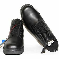 Men's Genuine Red Goose Black Leather Boots Lace Smart Shoes UK 7,8,9 RRP £110