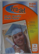 Projet 6x4 260gsm Gloss Photo Paper (100, 200 Sheets)