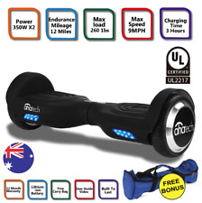 """6.5"""" Two Wheels Smart Self Balancing Electric Scooter Balance Hoverboard AUS"""