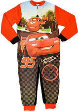 Cars Sleepsuit Boys Girls Disney One Piece Jumpsuit All In One Pyjamas Ages 2-6