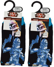 Boys Star Wars Socks 4 Pack Clone Wars Anakin