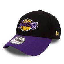New Era Los Angeles Lakers Black Base 39THIRTY NBA TRATTO IN FORMA berretto