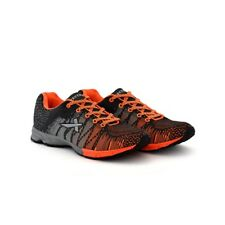 Vector X Men's Mesh Grey & Orange Running Shoes (RS-5000-GRY-ORNG)