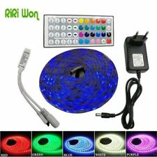 RiRi won SMD RGB LED Strip Light 5050 4M 8M 10m 5m 30Leds/m led Tape Waterproof