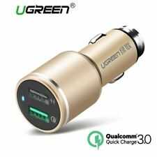 USB Car Charger 2 Port Quick Charge 3.0 Car-Charger 4.8A Dual Fast Car Quick Cha