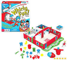 NIB Dr. Seuss Thing Two and Thing One Whirly Fun Game Think Christmas