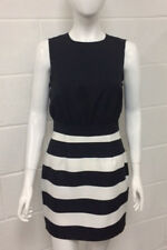 Black and White Two-in-One Contrast Dress - 8 - 14 Available