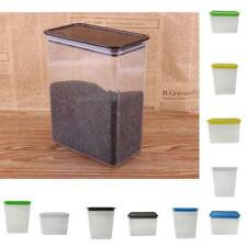 Food Cereal Grain Coffee Bean Rice Storage Container Sealed Box 5 Colors