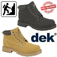 DEK Oasis Mens Padded Collar Urban Causal Dealer Shoes Chelsea Boots UK Sizes