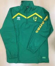 OFFICIAL NORWICH CITY FC TRAINING RAIN JACKET 1/4 Zip