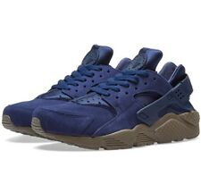 NIKE AIR HUARACHE RUN SE TRAINERS - BLUE / MUSHROOM - 852628 400  - UK 8, 9,10