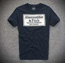 Abercrombie and Fitch Men by Hollister T-shirt Muscle fit Navy S, M, L, XL, XXL