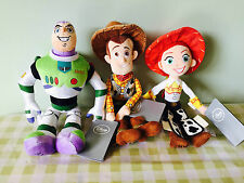 New Official Disney Toy Story Plush Soft toy Woody Buzz Lightyear Jessie BNWT