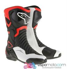 Botas ALPINESTARS SMX-6 V2 BLACK / RED FLUO / WHITE