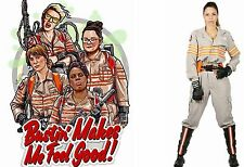 Ghostbusters ghost buster tuta cosplay costume VOLO Abito Costume Halloween