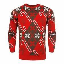 Forever Cellectibles Tampa Bay Buccaneers CANDY CANE Crewneck NFL Ugly Sweater