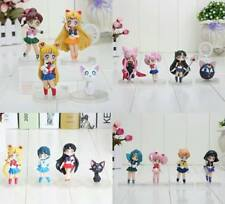 SAILOR MOON MINI ACTION FIGURES CHIBI 5 - 10 CM