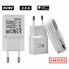 "Cargador rapido USB 5V 9V 2A compatible Apple IPHONE X 5.8"" fast charging"