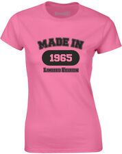 Brand88 - Made in 1965, Ladies Printed T-Shirt