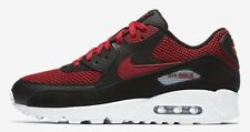 Nike AIR MAX-90 ESSENTIAL MEN'S SHOE Black/Tough Red- Size US 7, 8, 9.5 Or 10.5