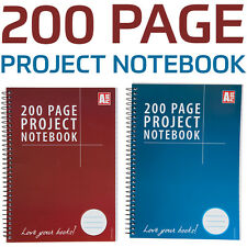 200 page-a5 Proyecto CUADERNO ESPIRAL bound- ruled-ideal para