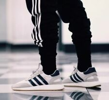 adidas INIKI BOOST White Navy Blue Gum Trainers Shoes