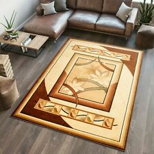 New Traditional Small Large Cream  Rug Online Modern Pattern Mat Floor Carpet